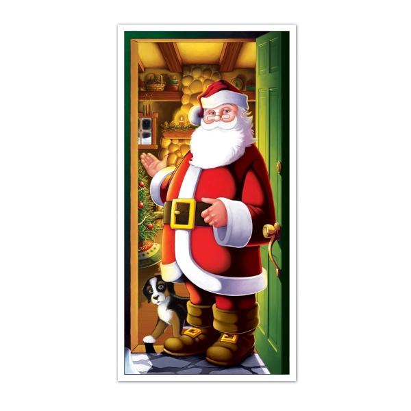 Tür-Dekofolie Santa Claus, 75 x 150 cm groß