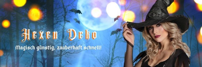 Hexen Deko - magisch gut, zauberhaft schnell geliefert D