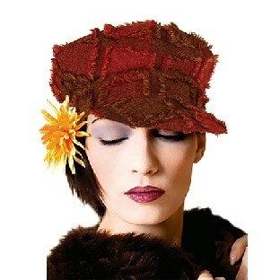 Damenmütze im Retro-Stil