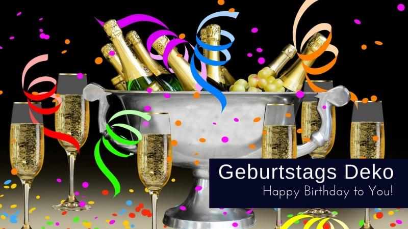 Geburtstagsdeko So Gut Schnell Gunstig Party Extra