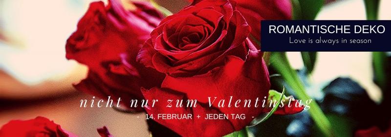 Romantische Deko zum Valentinstag + jeden Tag Liebe