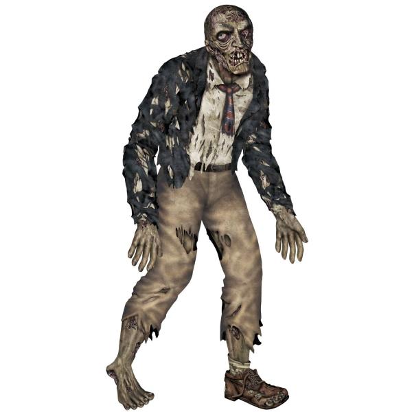 Riesen Cutout-Figur Verwester Zombie - Halloween Deko