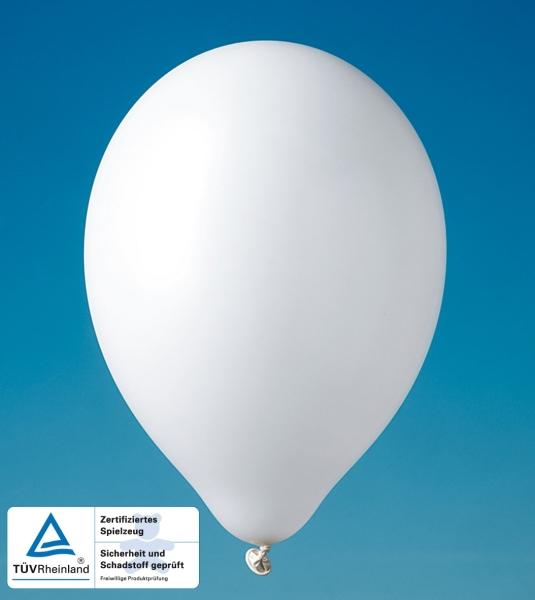 Party-Extra Luftballons weiß
