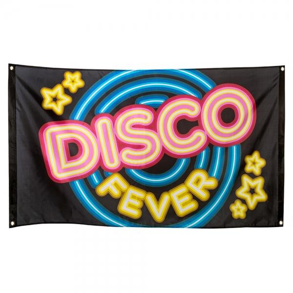 Dekofahne Disco Fever - Discoparty Deko