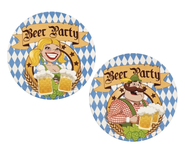 Bayern Party Bierdeckel - Oktoberfest Deko