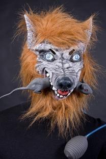 Latexmaske Rattenhänger