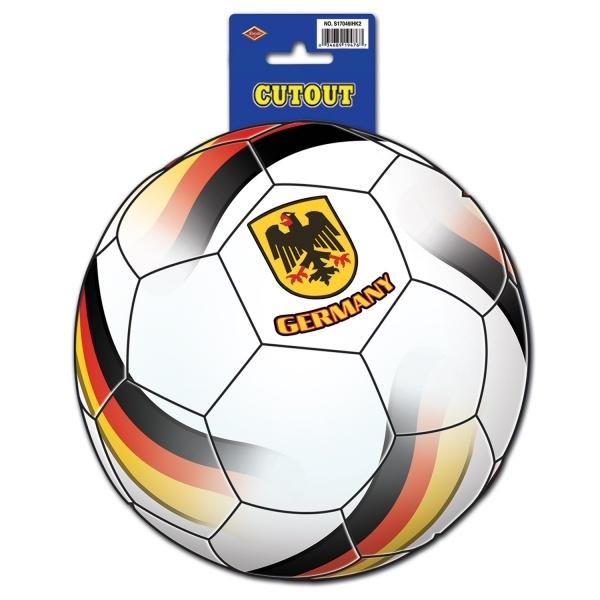 Dekoschild Fußball Deutschland, 25 cm - Nationalteam Deko