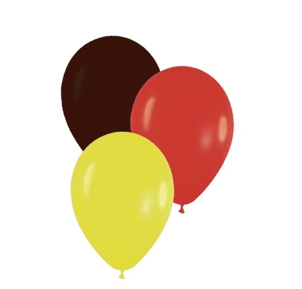 Lufballon-Set Deutschland, 12 Stück