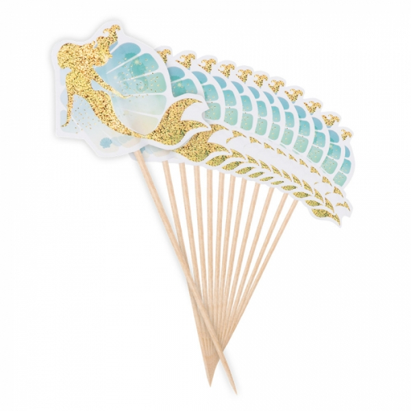 Picker Meerjungfrau, 12 Stück, 12cm