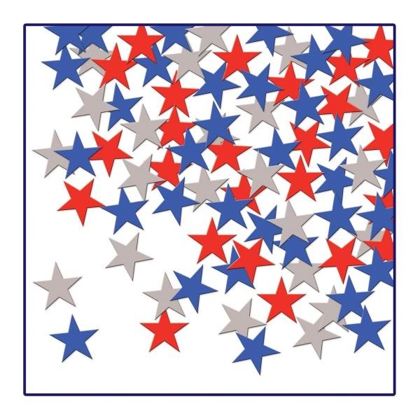 Party-Exttra Tischkonfetti American Stars