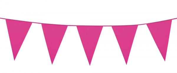 Mini-Wimpelkette Pink
