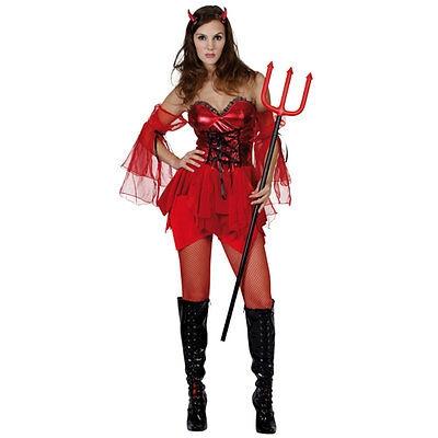 Sexy-Teufelin-Erwachsene-Damen-Halloween