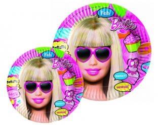Pappteller Totally Barbie