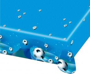 Plastik-Tischdecke Fußball regiert die Welt