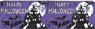 Metallic-Fransenbanner Halloween Spuk