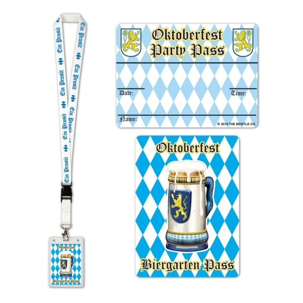 Party-Extra Biergarten Party Pass - overview