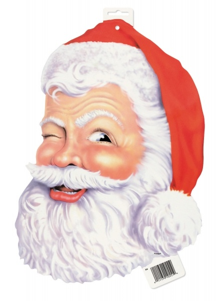 Cut-out Dekoschild Santa, 40cm groß