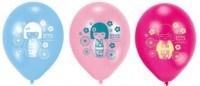 Luftballons Kimmi Junior, 6er Pack