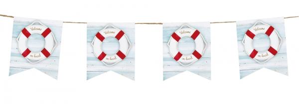 Flaggenkette Kreuzfahrt - Maritime Deko