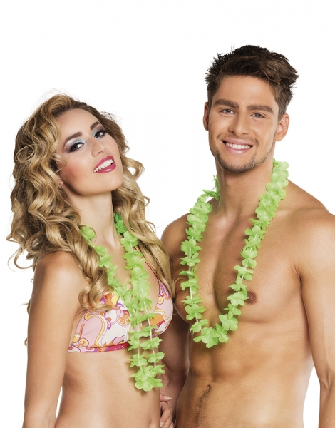 Hawaiikette gruen - Beachparty Deko