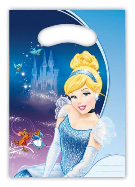 Mitbringseltueten Cinderella - Kinderparty Zubehoer