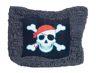 Pinata Piratenflagge, 50 cm groß