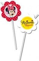 Trinkhalme Elegante Minnie, 6er Pack