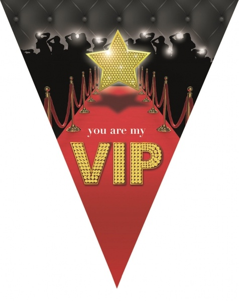 "Wimpelkette ""You are my VIP"", 5 Meter"