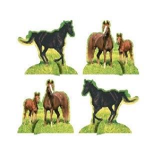 Tischdeko-Set Wildpferde