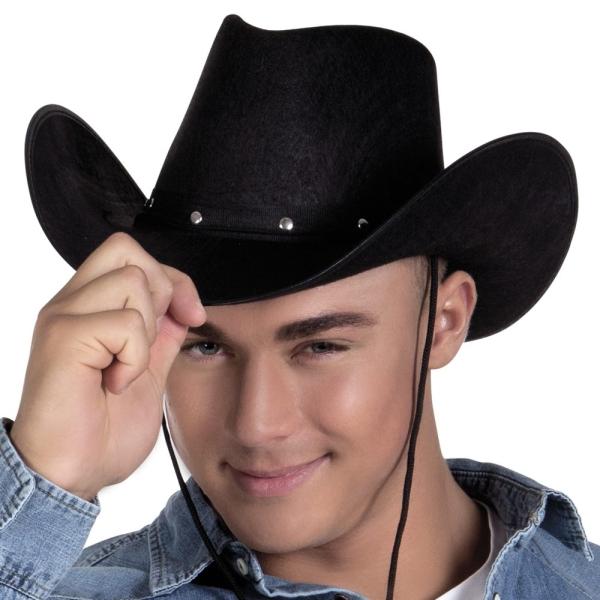 Cowboyhut Texas Ranger, schwarz