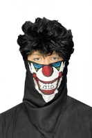 Mund-Nasen-Masken Tuch Vampir Clown Dreieckstuch