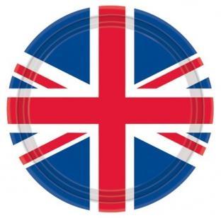 Pappteller Großbritannien