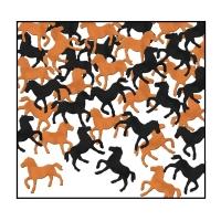 Tischkonfetti Pferde, 28 Gramm