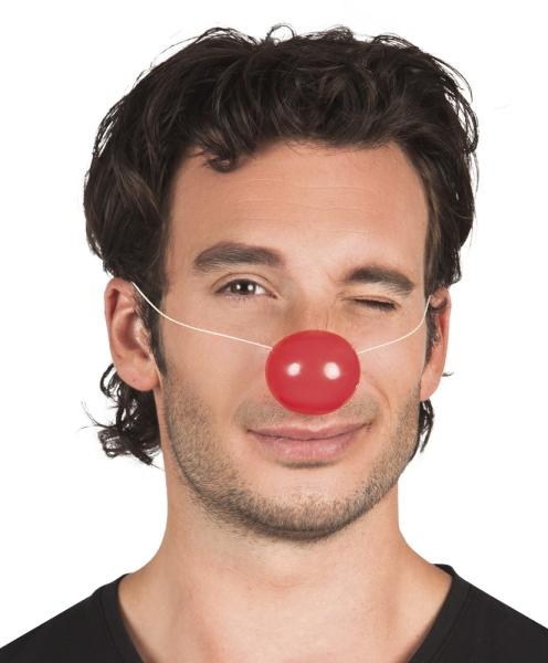 Plastik-Clownsnasen, 24er Pack