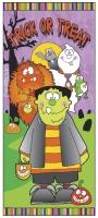 Party-Extra Tür-Dekofolie Kleine Monster
