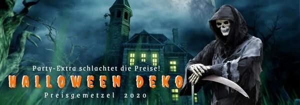Halloween Deko Preisgemetzel Gruseldeko Grim Reaper M