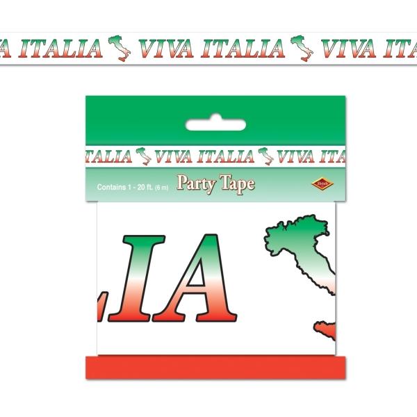 Absperrband Viva Italia, 6m lang