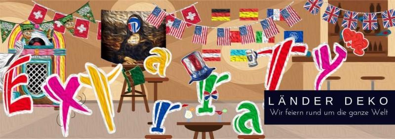 Laender Mottoparty Deko - feiern rund um die Welt D