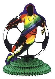 Party-Extra Tischdeko Fußballspieler, 27 cm - Fußballparty Deko