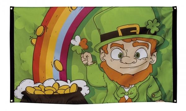 Party-Extra Dekofahne Irland 90 x 1r50 cm