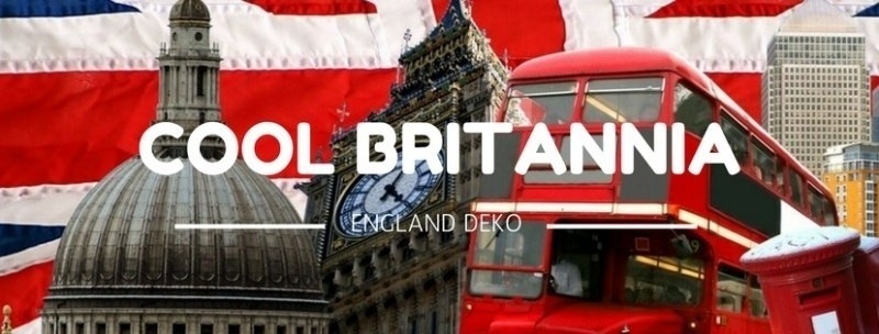 Party-Extra England Deko Cool Britannia