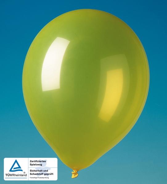 Party-Extra Luftballons gelb