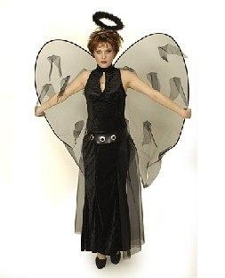 Damenkostuem Gefallener Engel