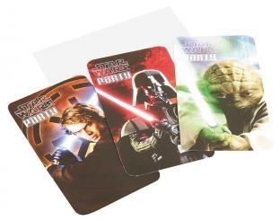 Einladungskarten Star Wars