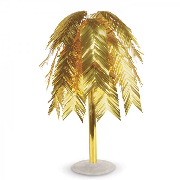Große Federkaskade, gold - Glamour Deko