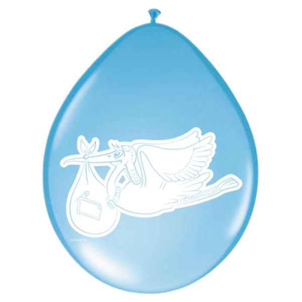 Luftballons Baby Boy, 8er Pack.