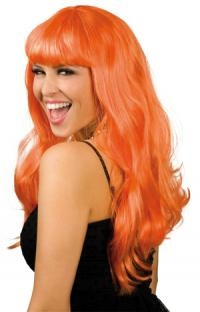Perücke Chique, orange