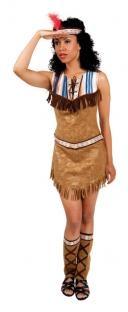 Damenkostüm Fesche Indianerin