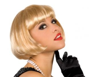 Perücke Cabaret, blond