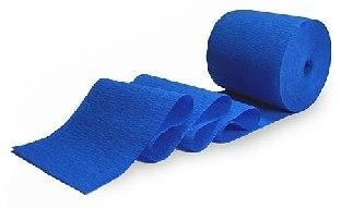 Party-Extra Dekokrepp, blau, 30 ;Meter